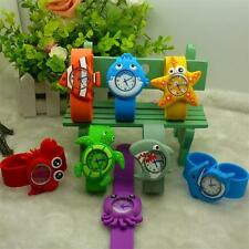 HC Novetly Kids Boys Girls Cartoon Animals Crab Baby Quartz Wrist Watch Watches