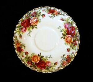 Beautiful Royal Albert Old Country Roses Saucer