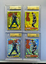 Tom Brady Gold Kaboom BGS 9.5 Collection 2018 & 2019 2x Golds 2x Silvers READ 👀