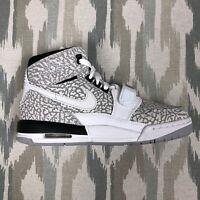 Nike Air Jordan Legacy 312 GS Kids Shoes Size 5.5Y/6Y/6.5Y White/Gray AT4040-100