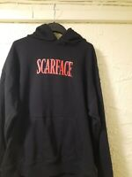 Men's H&M Black SCARFACE Hoodie BRAND NEW TAG Size MEDIUM SUPER RARE ONLY ONE