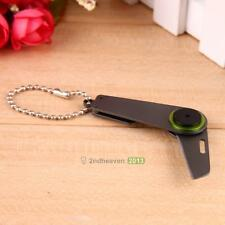 1Pc EDC Portable Mini Folding Key Ring Zipper Knife Rope Cutter Paper Knife BEST