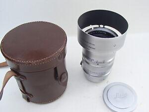 Leica coated Summarex 8.5cm F1.5 LTM Screw Mount Lens