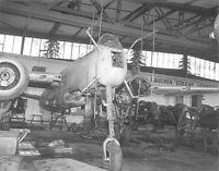 """WWII Photo Luftwaffe He219 """"Owl""""  Maintenance   WW2 B&W World War Two / 6071"""