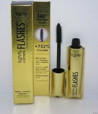 BRAND NEW TARTE LIGHTS,CAMERA,FLASHES STATEMENT MASCARA BLACK FULL SIZE 0.31 OZ
