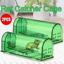2Pc Mouse Trap Humane Pest-Stop Systems Vermin Rodent Cage Pest No Kill Reusable