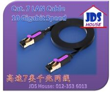 Ethernet LAN Cable RJ45 Cat7 STP Network CAT 7 Flat Wire 1M