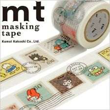 MT Washi Masking Deco Tape SANRIO Characters Stamps