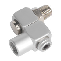 "SA902 Sealey Z-Swivel Air Hose Connector 1/4""BSP [Accessories]"