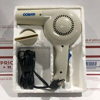 Vintage Conair 500 Watts Hair Dryer Model 050 Classic Tested And Working Great