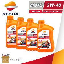4 LITRI OLIO MOTORE 4T REPSOL RACING 5W40 100% SINTETICO ( MASSIME PRESTAZIONI )