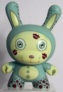 "8"" TEAL BUBBLE YUCKY Dunny Tara McPherson Kidrobot  2007"