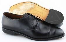 Men's ALLEN EDMONDS 'Clifton' Black Cap Toe Leather Oxfords Size US 10.5 - 3E