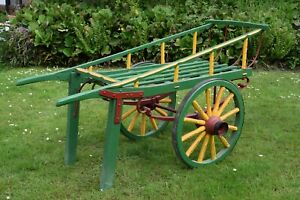 Vintage Costermonger's barrrow wedding or retail display market candy cart