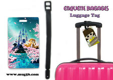 Etiquette bagage / luggage tag - disney - tic et tac chip and dale 01-002