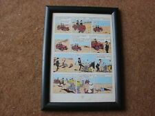 "Tintin - Land of Black Gold - ""Mirage"" - mounted & framed page"