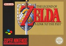 SNES - Legend of Zelda: Link to the Past + Map ENGLISCH mit OVP Top Zustand