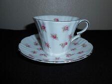 Royal Albert Debutante Series Romance Pink ROSE Cup & Saucer FREE SHIPPING!