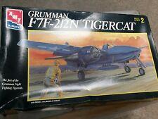 AMT Grumman F7F-2/2N Tigercat 1/48 level 2 NIB aircraft model kit aviation plane