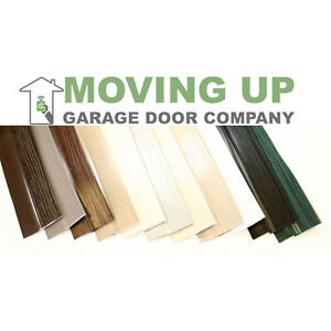 Single Car Garage Door Stop Sides and Top 2 Inch Weather Seal Any Size