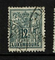 Luxembourg SC# 53, Used, some bending - S6575
