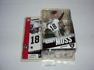 McFarlane SportsPicks 2005 NFL 11 Randy Moss Oakland Raiders