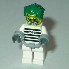 BATMAN #10A Lego Joker Bomb Arkham Asylum Prisoner NEW custom Prison Stripes