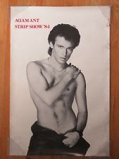 "1984 ADAM ANT ""Strip Show '84"" #8078 Poster"