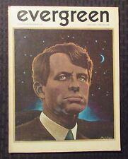 1969 EVERGREEN REVIEW Magazine #67 FN+ 6.5 William S Burroughs RFK