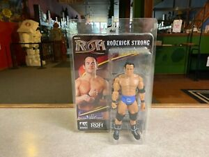 """FTC Figure Toy Company 8"""" Retro WWE Rising Stars of Wrestling RODERICK STRONG"""