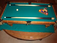 Brunswick Pool Table (miniature) The Jewel 1885 Reproduction.