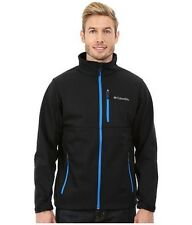 Columbia - Ascender Softshell Jacket (Black/Hyper Blue) Men's Coat XXL - $195.00