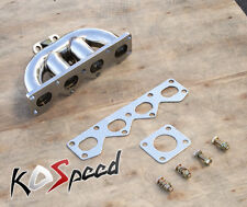 STAINLESS TD05 FLANGE EXHAUST TURBO MANIFOLD FOR 90-93 MAZDA MIATA MX-5 MX5 1.6