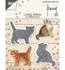 2 Katzen - Stanzschablone - Francien von Joy!Crafts (6002/1362)