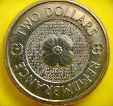 $2 -Two Dollar circulated coin
