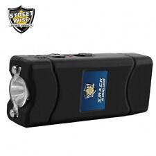 Stun Gun Streetwise Flashlight Rechargeable Black 6,000,000 Volt Self Defense