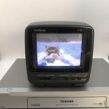 More details for goodmans compact 510 crt television 12.7cm tv camper retro gaming film prop