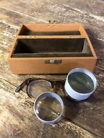 Vintage Telescopic Lense Eye Glasses Spectacles In Original Box