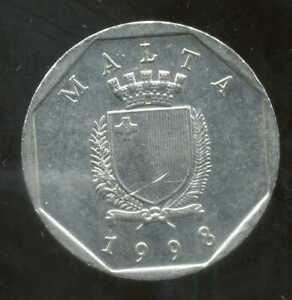 MALTE  50  cents 1998  ( bis )