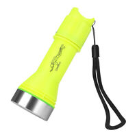 6000LM LED Diving Flashlight Torch Underwater 20M Waterproof Lamp w/ Wristband
