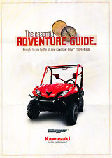 2008 Kawasaki Teryx 750 RUV ATV Original Advertisement Car Print Ad J347