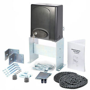 CO-Z 1400lbs Automatic Sliding Gate Opener Door Hardware Kit Security System