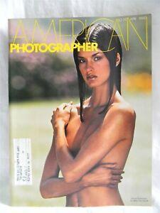 American Photographer Magazine 1980 April Janice Dickinson Cover