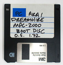 Akai MPC-2000 Boot Disk Operating System 1.72