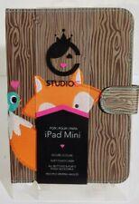 C Studio ©iPad Mini™ Case w Embroidered Fox and Blue Bird *NEW*