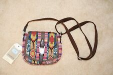 *NWT* TOMS Departure Pattern Mix Crossbody Bag Multi Color Adjustable Purse