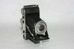 Agfa Billy Record I 6x9 Rollfilmkamera mit 4,5/105mm Schneider-Kreuzn. Radionar