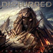 DISTURBED IMMORTALIZED CD NEW