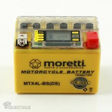 Original moretti erizos batería mtx4l-Bs + stromtester cierre libre de mantenimiento