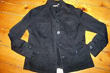 Veste en coton noir T 42